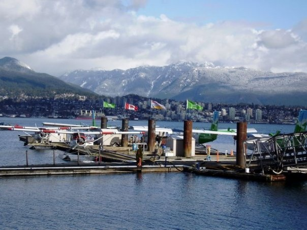 Water planes - Vancouver, BC - photograph taken by Rosalia Marie