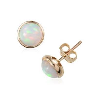 FASHIONS FOREVER® 925 Sterling Silver Chic Designer Opal Tear Drop Leverback Earrings, Handmade in UK