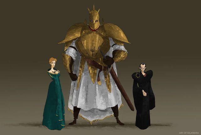 Game of Thrones (GOT) example #293: El Espacio Geek: Los personajes de Game of Thrones en caricatura