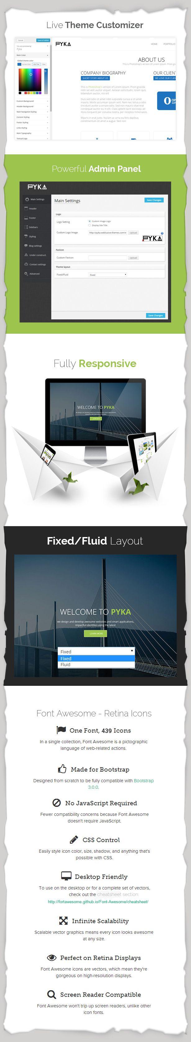 WordPress - Pyka - Single Page WordPress Theme | ThemeForest