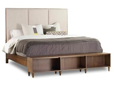 Shop For The Hooker Furniture Studio Queen Aon Upholstered Bookcase  Footboard Bed At J U0026 J Furniture   Your Mobile, Daphne, Tillmans Corner, ...
