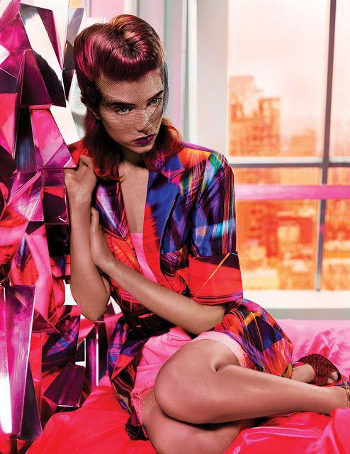 Grace Hartzel - Vogue México Março 2017 ~ Editoriais - Revistas de Moda