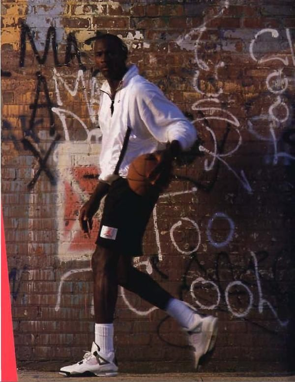 it was summer vacation of '89. we were at a sports store. this poster got me mesmerized. - Jordan IV