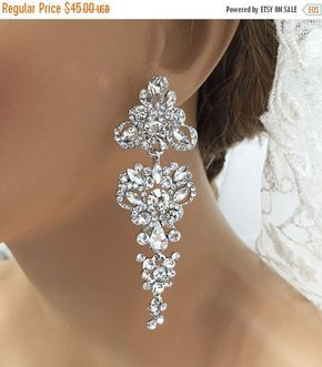 A personal favorite from my Etsy shop https://www.etsy.com/listing/272406248/bridal-jewelry-bridal-earrings-wedding