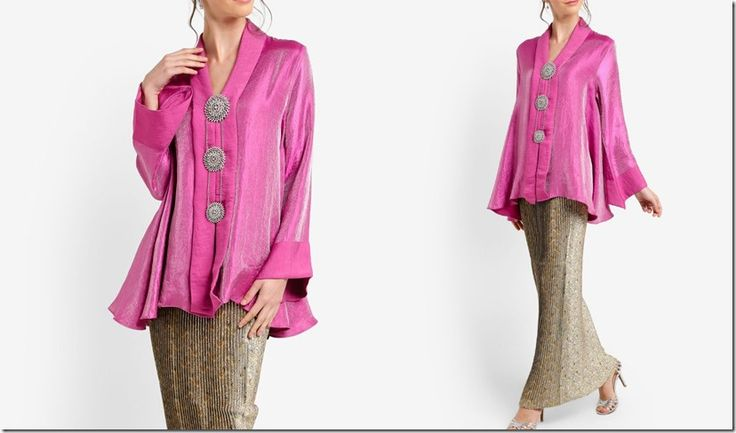 Ladies, the hunt is over because you're going to make these kebaya and kebarung styles your perfect baju raya!