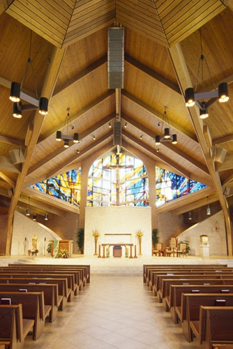 I used to go to this chuch in high school. - St. Laurence Catholic Church, Sugar Land, TX - Where I was married