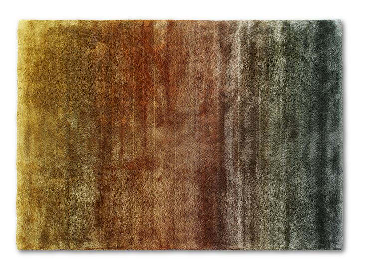 """""""Astro Shade - Green Rusty Gold"""", from Ogeborg Design Collection."""