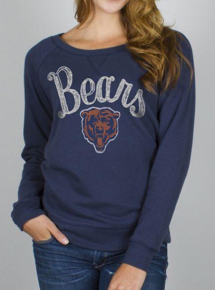 NFL Chicago Bears Field Goal Fleece w/ Embroidery - - Junk Food Clothing