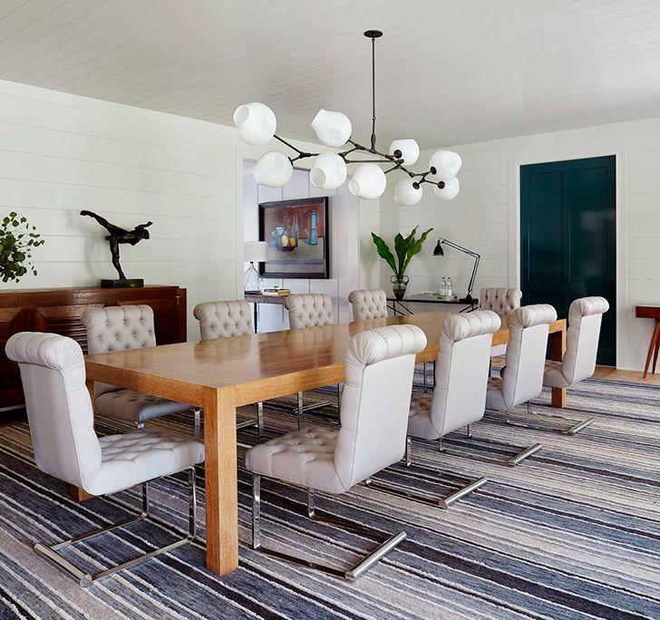 Роскошный своими размерами и уютом дом для большой семьи в Хэмптонсе | Пуфик - блог о дизайне интерьера