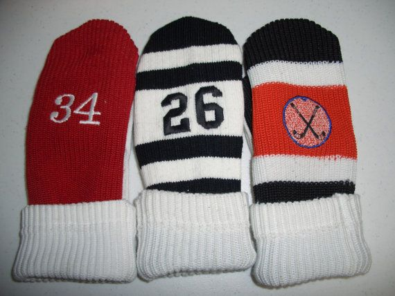 Hockey Sock Mittens by jebmonkey on Etsy | Cool Gifts ...