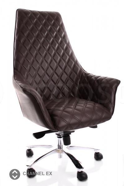 Channel Ex - кресло класса люкс для руководителей, предпочитающих вечную классику. Выполнено из кожи