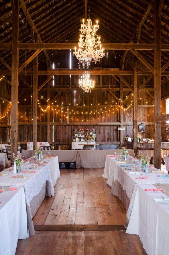 Vintage DIY Inspired Barn Wedding