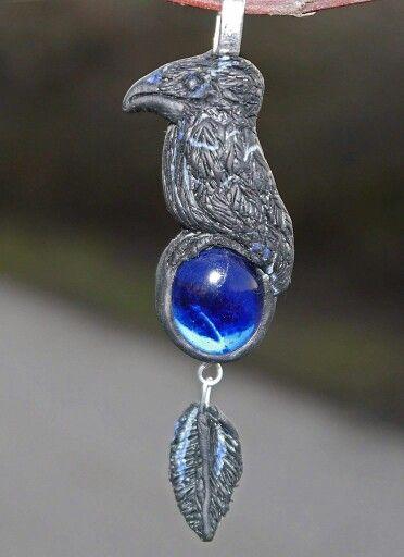 Little Raven Pendant