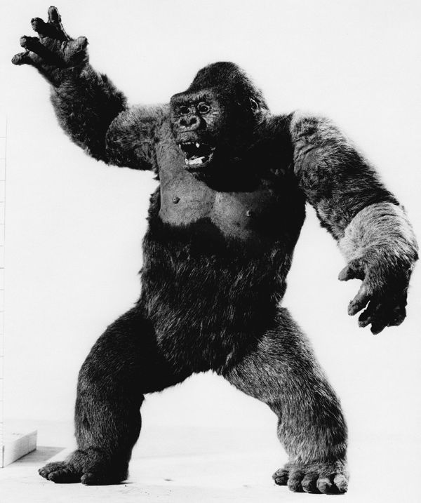 Ray Harryhausen, and his Oscar winning  Mighty Joe Young (1949)