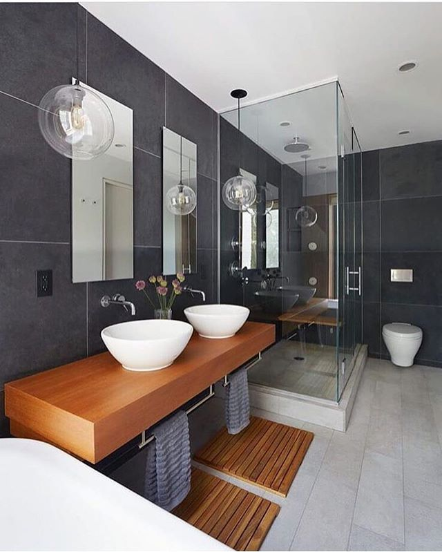 Via: @mansion_kings - Gorgeous Bathroom by Etelemaki Architecture! Located: Brooklyn, New York. ▬▬▬▬▬▬▬▬▬▬▬▬▬▬▬▬▬▬▬▬ Tag your photos & videos with #IGInteriors. ▬▬▬▬▬▬▬▬▬▬▬▬▬▬▬▬▬▬▬▬ | © All credits correspond to photographer/designer/owner/ creator |