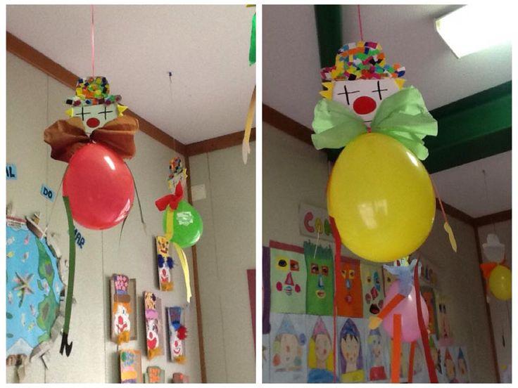 ballon de baudruche et carton