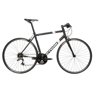 All Bikes Cycling - Triban 500 Flat Bar Road Bike - Black B'TWIN - Bikes