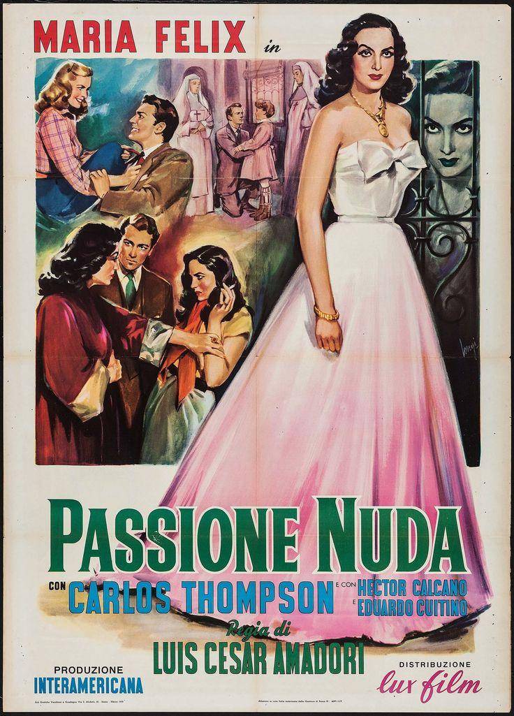 1953 - LA PASION DESNUDA - Luis César Amadori - (italiano)