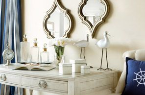 Joss & Main.com: Decor Ideas, Decor Boxes, Large Mirror, Houses Decor, Decor Decor, Fabulous Decor, Decor Accent, Frames Mirror, Beaches Bedrooms
