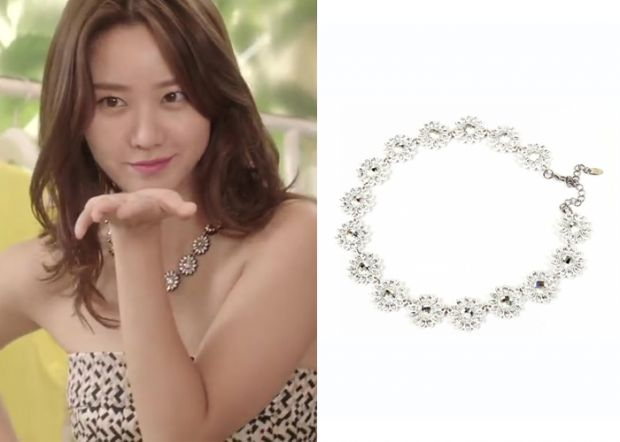 """Han Groo 한그루 in """"Marriage, Not Dating"""" Episode 2.  Renachris Peace Necklace #Kdrama #MarriageNotDating #연애말고결혼 #HanGroo"""