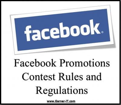 facebook giveaway rules regulations