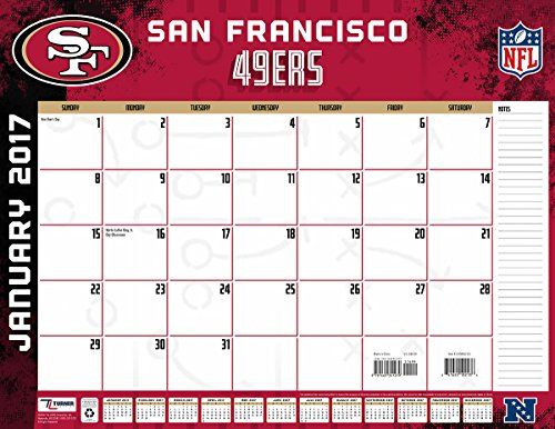 San Francisco 49ers Desk Calendar