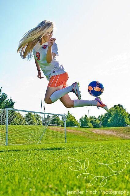 Senior Portrait / Photo / Picture Idea - Soccer