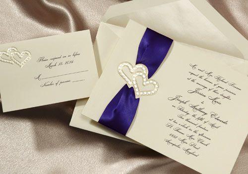 Wedding Invitation Ribbon Ideas - http://exweddinginvites.info/wedding-invitation-ribbon-ideas/
