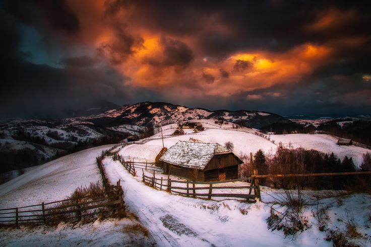 Photograph Sunset in Bran by Cezar Machidon on 500px