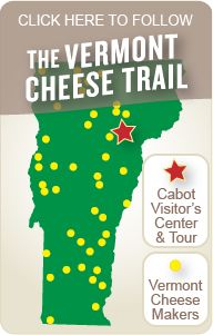 Cabot Cheese - Click here to follow the Vermont Cheese Trail - Cabot, Vermont