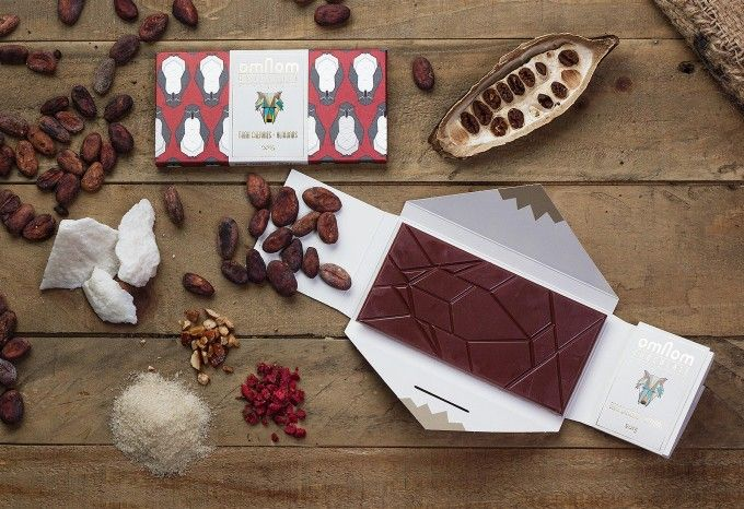 「Omnom Chocolate(オムノム チョコレート)」のアイテムスタイリング