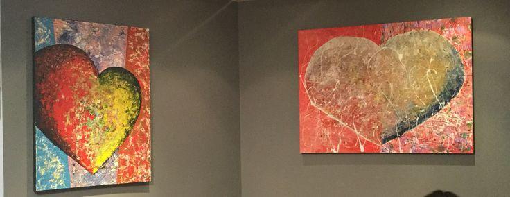 Bienvenue LUC TESSIER, artiste peintre qui expose ses magnifiques toiles chez nous, à la boutique de MARCHÉ AUX FLEURS, de Saint-Bruno. 450-461-1845 Des cœurs pour toutes les occasions. #artisteluctessier #lemarcheauxfleurs #onaimelescoeurs #saintbruno  PARTAGEZ LA BONNE NOUVELLE :-)