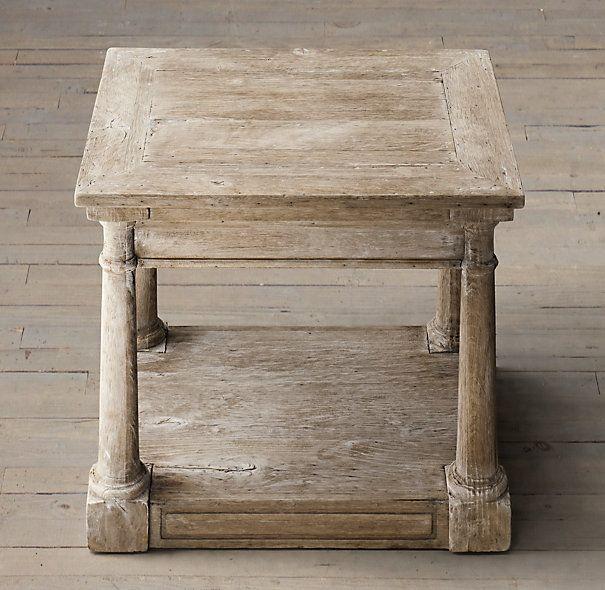 Bertrand side table coffee tables restoration hardware