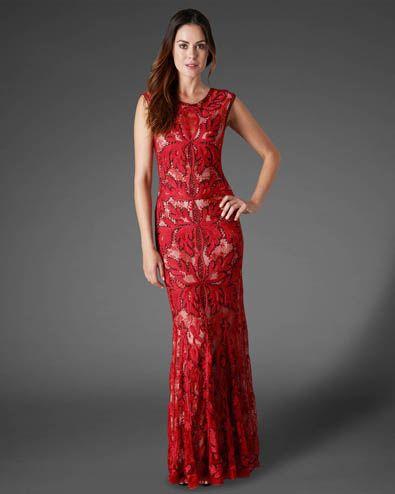 Paige Tapework Full Length Dress