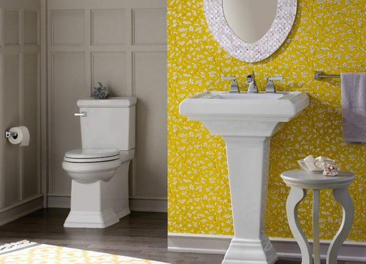 16 Best Lovely Yellow Bathrooms Images On Pinterest