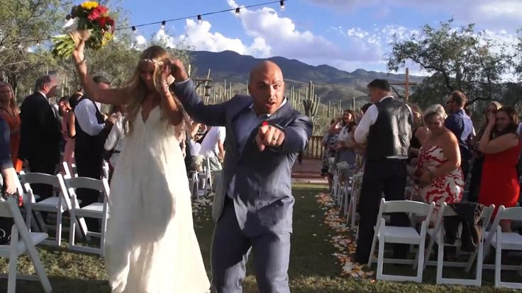 A rustic wedding ceremony at the Tanque Verde Guest Ranch. https://vimeo.com/111863295