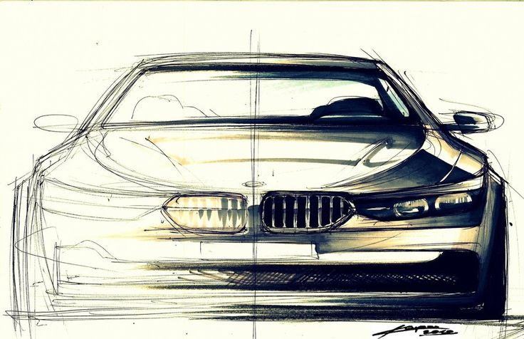 another bmw front view by Chrupson on deviantART