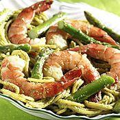 Pasta with Shrimp, Asparagus and Basil - Price Chopper Recipe