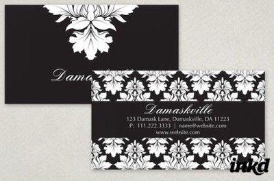 http://inkddesign.deviantart.com/art/Elegant-Damask-Business-Card-168430744