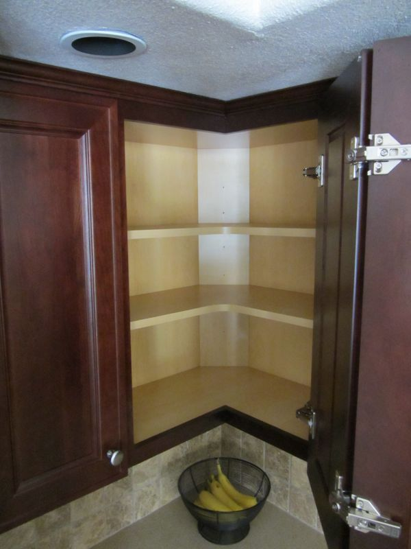 Blind corner wall cabinet woodworking projects plans for Corner kitchen cabinet