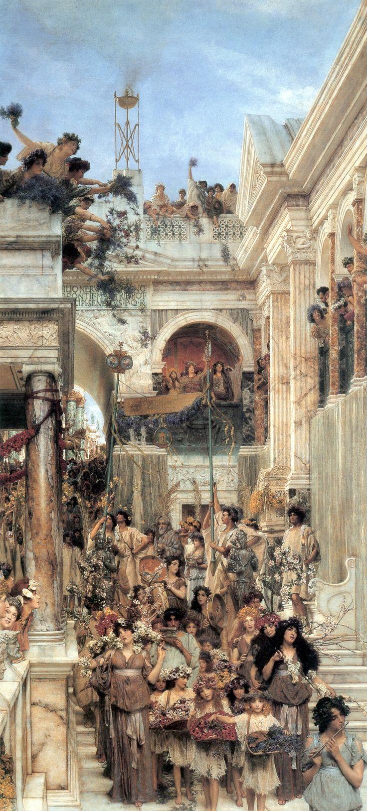 Sir Lawrence Alma Tadema - Spring 1894