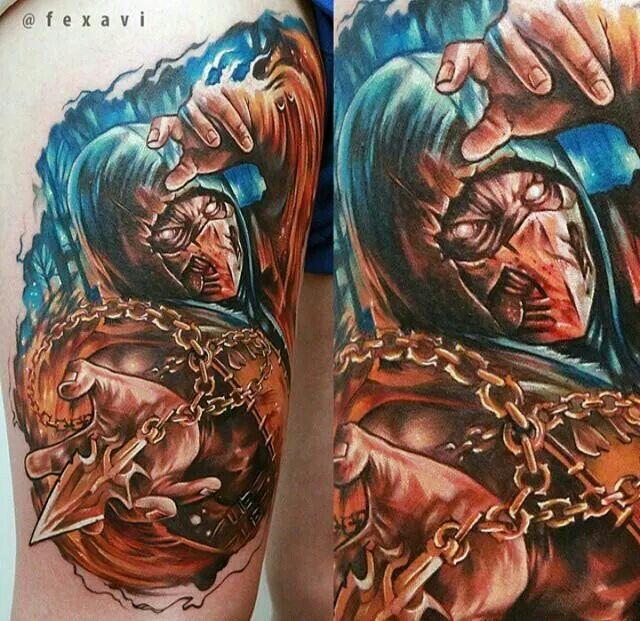Tattoo Designs Mk: 61 Best MK Scorpion Images On Pinterest
