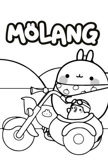 Molang Colouring Page 2 | Molang, Coloring pages ...