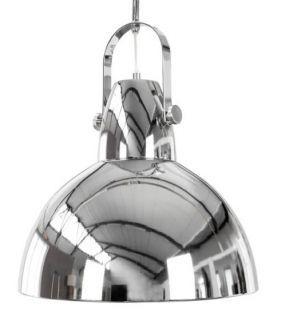 LAMPA FABRIC LIGHT industrialna chrome nowoczesna wisząca - Planeta Design MEBLE DEKORACJE DESIGNERSKIE NOWOCZESNE wysyłka w 48h