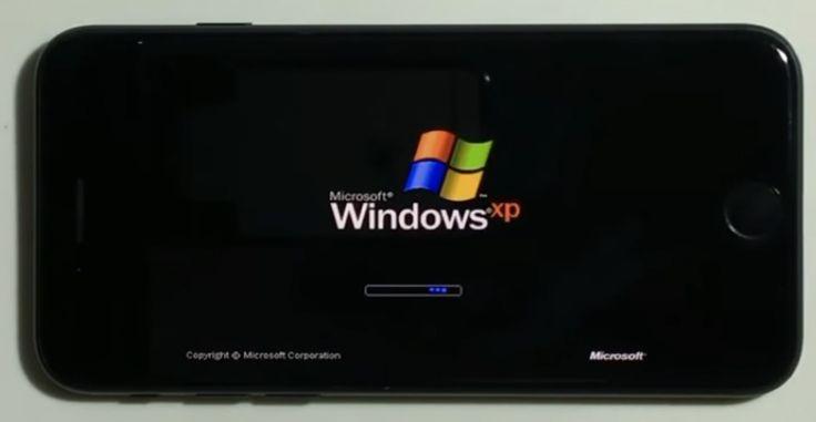Momento nostalgia: Windows XP eseguito su iPhone 7! [Video]