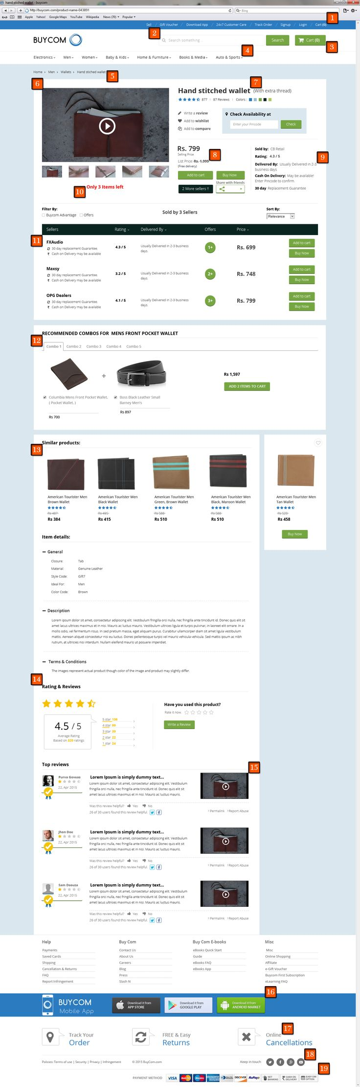 eCommerce landing page is an important key to conversion. So, Nine Hertz has designed an ideal #SEO Friendly #eCommerce Product Landing Page that is #FREE for download.