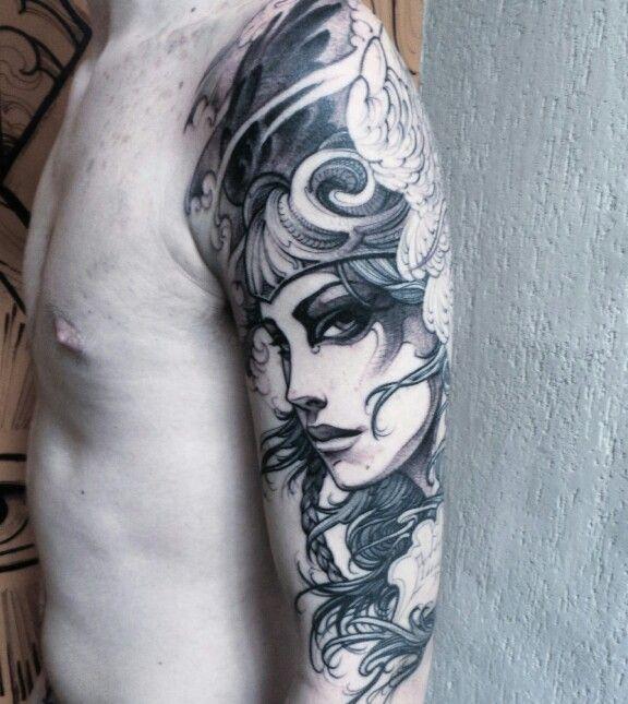 25 Best Valkyrie Tattoo Ideas On Pinterest Viking Warrior Tattoos Norse And