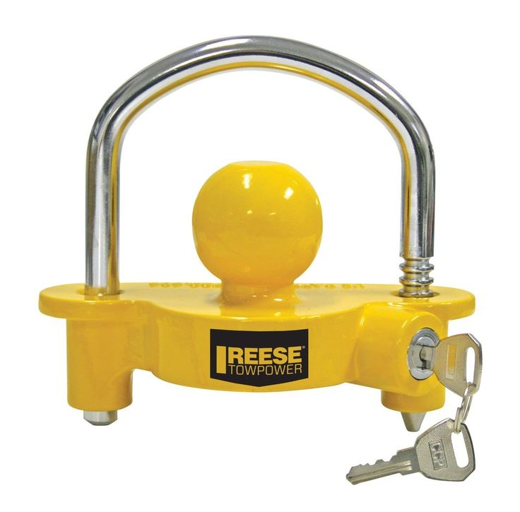 Reese Towpower Universal Trailer Coupler Lock Towing Security Hitch Locks NEW #ReeseTowpower