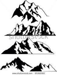 Image result for snowdon silhouette