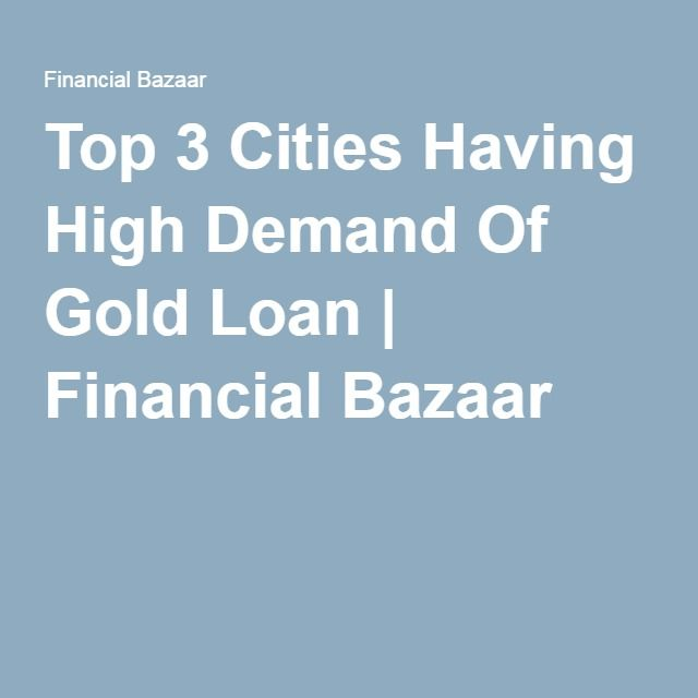 Find all the breaking news and products related to the gold loan. Read and share which one is good for you.